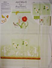 Green April Showers Apron + Doll Apron Panel btp