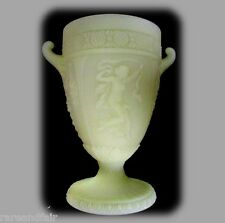 RARE Northwood art glass large Dancing Ladies glass lamp -  1913 - FREE SHIPPING