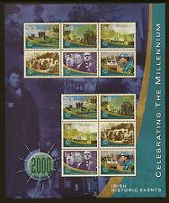 IRELAND: 2000 Millenium Sheetlet 2-Historic Events  SG 1289-94 unm. mint