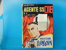 AGENTE SS 018 DENNIS COBB  n. 3 del 1965   ed. Corno