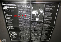 LED ZEPPELIN japanese cd INSERT SHEET only (NO CD no misic) Song Remains Same