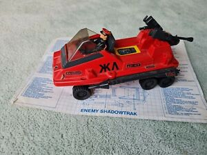 Action Force Red Shadows Shadowtrak