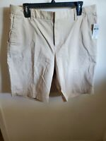 "GAP Tan Bermuda Khaki Shorts with 10"" Inseam Size 16 NWT"