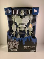 The Iron Giant Robot Walking Talking Light Up Figure Walmart Exclusive New