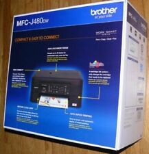 New Brother MFC-J480dw Wireless Duplex Color All-in-One Printer Copy Fax Scan