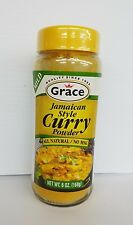 GRACE All Natural Jamaican Style CURRY POWDER Mild 6 OZ authentic Jamaica to you