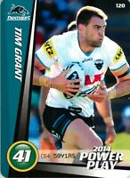 ✺New✺ 2014 PENRITH PANTHERS NRL Card TIM GRANT Power Play