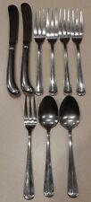 Reed and Barton Hancock Select Stainless Flatware 9 Pc