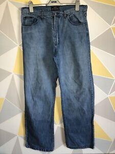 HENRI LLOYD Men's Mid Denim Blue Jeans Regular Fit Size W 36 / L 32 VGC