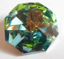30mm Metallic Green 30mm Octagon Chandelier Wedding Crystal