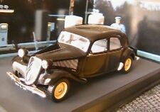 DIORAMA CITROEN TRACTION AVANT NOIRE STATION ESSENCE IXO 1/43 ALTAYA NATIONALE 7