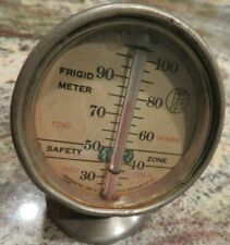 Unique Vintage FRIGID METER 1930 by Phila Thermometer Co.