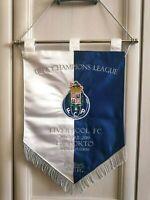 Gagliardetto Ricamato PORTO - LIVERPOOL UCL 2019 Match Large Pennant Embroidered
