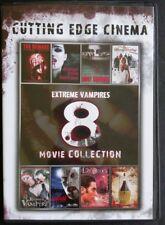 Cutting Edge Cinema Extreme Vampires 8 Movie (DVD, 2012, 2-Disc Set) New Sealed