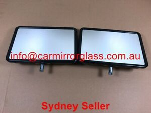 NEW DOOR MIRROR HEAD FIT FORD COURIER 1996-1998 ((1 pair Rectangle Head Only))