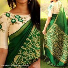 Ethnic Bollywood PartyWear Indian Designer Wedding Traditional BhagalPuri Saree