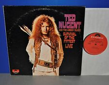 Ted Nugent and the Amboy Dukes Survival of the apte USA signifiant Original LP