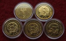 POLAND SET OF COINS 2 ZL FIFA WORLD CUP GERMANY 2006 LOT ONE PIECE 1 PC CAPSULE