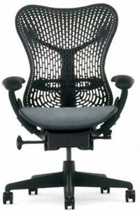 Herman Miller Mirra Black (Aeron) Chair w/Fully Adjustable Features
