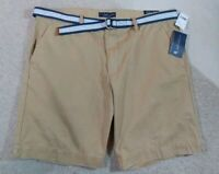 MEN'S BELTED SHORTS  U.S. Polo Assn. Classic Fit Twill Cargo Shorts Sz 40