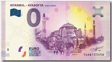0 Euro Turkiye - Istanbul - Ayasofya / Hagia Sophia - 0 Euro Turkey TUAQ
