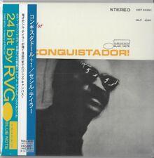 Cecil Taylor – Conquistador! BLUE NOTE RVG JAPAN MINI LP CD Bill Dixon
