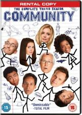 Community - Series 3 Complete (DVD, 2013, 3-Disc Set) NEW SEALED Rental Copy PAL