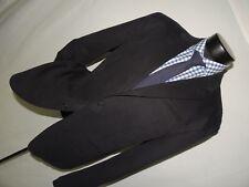 AX Armani Exchange men's 100% cotton Black shadow stripe jacket 46 R