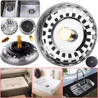 Premium Kitchen Sink Replacement Drain Waste Plug Basin Filter Strainer Drainer
