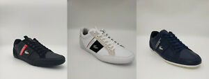 Lacoste Chaymon 120 7 Men's Croc Logo Casual Slip On Loafer White/Navy/Black/Red