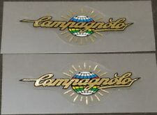 Chain guard decal Campagnolo in White on Chrome