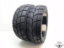 120/70-12 + 130/70-12 M+S Roller Winter Reifen Satz Peugeot Speedfight 2 50 100*