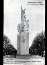 AUXERRE (89) MONUMENT aux MORTS 1914-1918 Sculpteur Max BLONDAT vers 1920