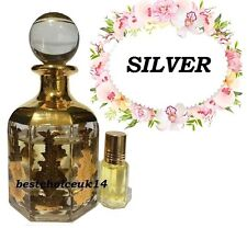 SILVER  36ML BY AL HARAMAIN ARABIAN PERFUME OIL HIGH QUALITY LONG LASTING