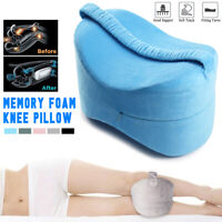 Memory Foam Knee Leg Pillow Bed Cushion Hip Back Support Pain Relief Orthopaedic