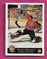 MINOR NEW JERSEY DEVILS MARTIN BRODEUR GOALIE MINT CARD (INV# A9602)