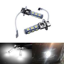 2X H3 Ampoules 13 SMD LED blanc xénon lumière de brume feux de brouillard 12V