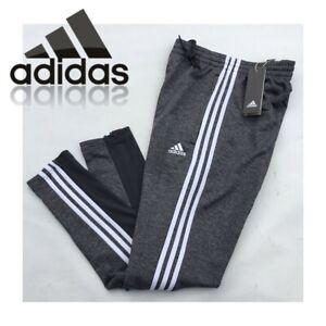adidas Mens Joggers Sweat Pants Grey Jog Jogging Track Pants Bottoms Size Small