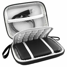 EVA Shockproof Carrying Portable 2.5 inch External Hard Drive Travel Case Black