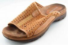 Naturalizer Slide Brown Leather Women Shoes Sz 6 M