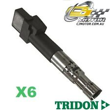 TRIDON IGNITION COIL x6 FOR Audi  A3 02/05-01/09, V6, 3.2L BMJ