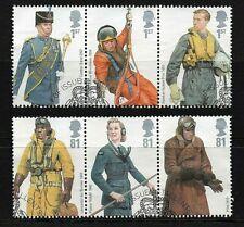 GB Stamps 2008 'RAF Uniforms' - Fine used