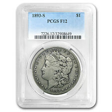 1893-S Morgan Dollar Fine-12 PCGS (Key Date) - SKU #29201