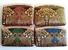 Cute Thai Elephant Handmade Silk Lady Purse Coin Clutch Bag Zip Gift Souvenirs