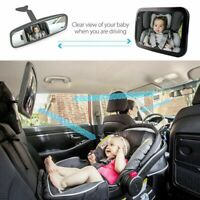 Baby Car Seat Rear View Mirror Facing Back Infant Kids Child Toddler Ward S W8F8
