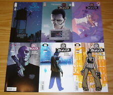 NYC Mech #1-6 VF/NM complete series - robot science fiction 2 3 4 5 set lot