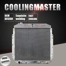 New ListingFit 53-56 Ford F100 F250 F350 Pickup Truck L6 V8 At/Mt 2Row Aluminum Radiator