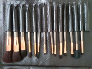 Brushes makeup Bh cosmetics Brown-Rose 14 Pcs