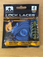 Nathan Reflective Lock Laces - elastic shoelace - Blue