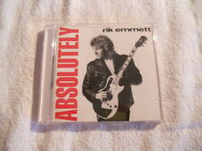 "Rik Emmet ""Absolutely"" 1990 cd Charisma Rec. Printed USA Triumph NEW"